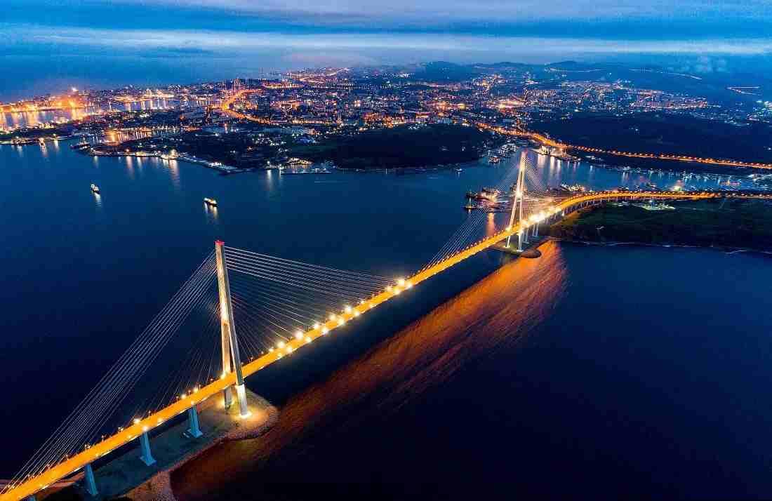 Владивосток - приморский Сан Фрациско