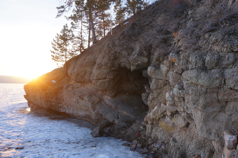 Пугачевская пещера зимой